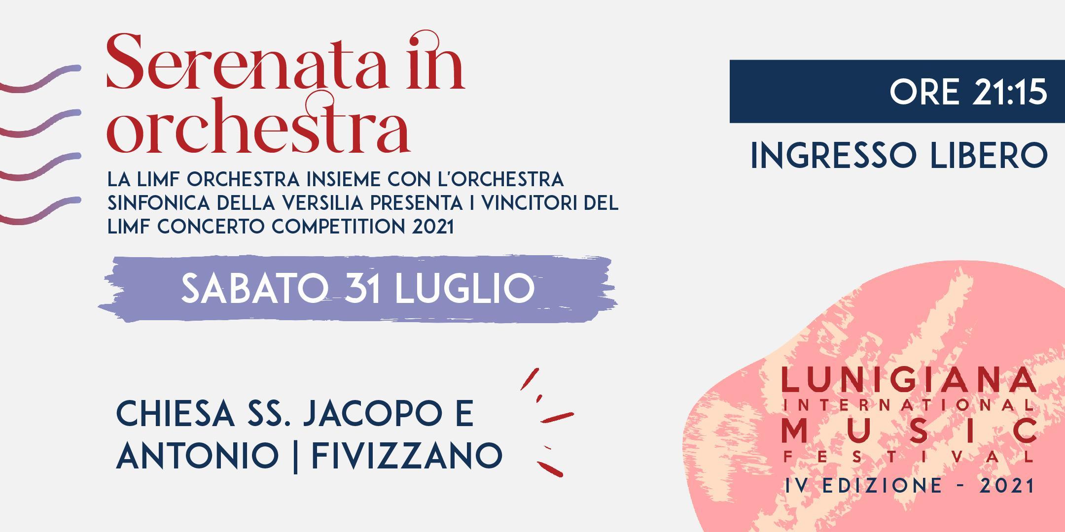 LIMF 2021 – Serenata in Orchestra